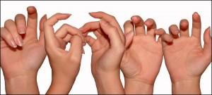 Chanson avec les mains